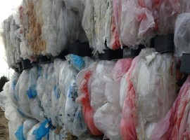 LDPE film, waste