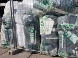 Styropian odpady - czysty