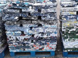 Odpad puszki aluminiowej