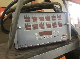 Heated duct controller