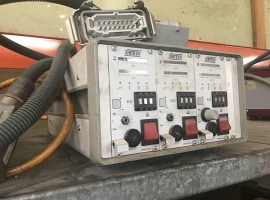Heated channel controller