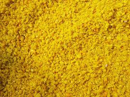 HDPE żółty kosz przemiał
