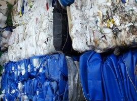 Odpad PE - kanistry