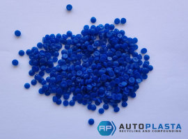 HDPE синие пеллеты