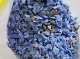 Przemiał HDPE niebieska