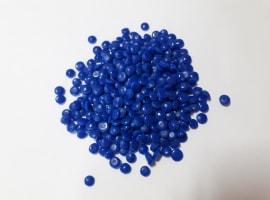 LDPE regranulat niebieski