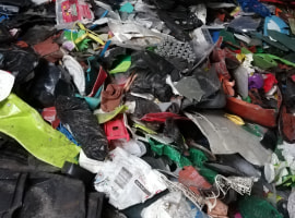 Plastic waste type PP