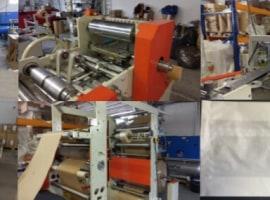 Paper-bag making machine