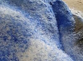 HDPE przemiał niebieski