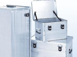 Aluminum lock cases