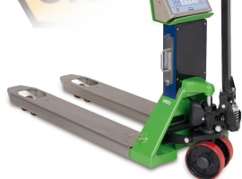 Pallet truck for working
