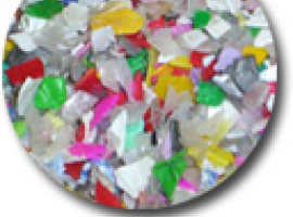 Услуга очистки пластмасс