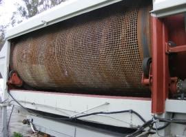 Rotary sieve (screen)