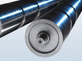 Walce i rolki aluminiowe;