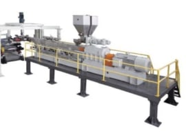 Line for coextrusion