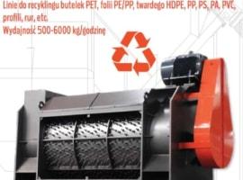 Linie do recyklingu tworzyw