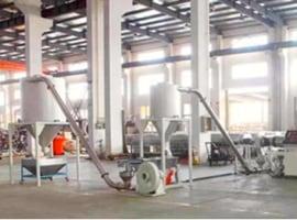 Line for hard PVC granulating