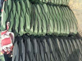 HDPE trash baskets