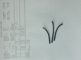 LDPE black regranulate