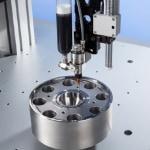 Gantry fluid dispensing robot