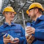 BASF erzeugt erstmals Produkte