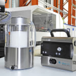 Resin Dryers with Compressed