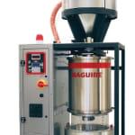 New vacuum resin dryer at