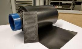 Flexible Bipolarplatten aus Polymeren ermöglichen kompakte Batterien