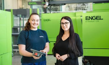 Engel promotes young female