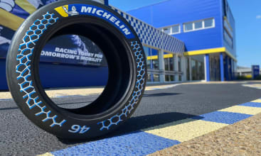 A track-proven tire with 46%
