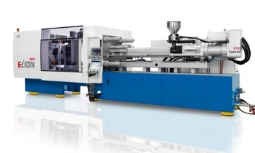 Injection compression molding