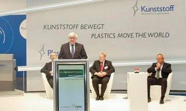 """Plastics shape the future"""