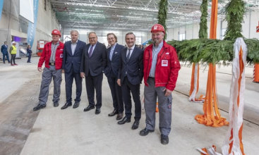 Messe Düsseldorf holds topping-out