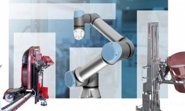 Roboty Universal Robots na