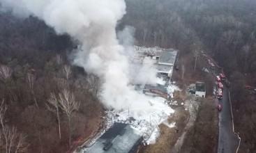 Pożar w Pionkach: zatrzymano