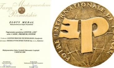 Złoty medal Taropaku za nagrzewnice