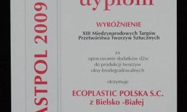 Wyróżnienie targów Plastpol