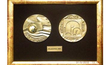 Medal targów Plastpol dla