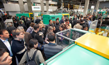 K 2010: Arburg impresses international