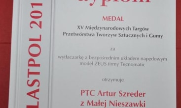Medal Targów Kielce dla firmy