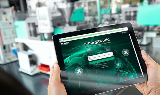 Internetowy portal arburgXworld: narzędzie transformacji cyfrowej firm