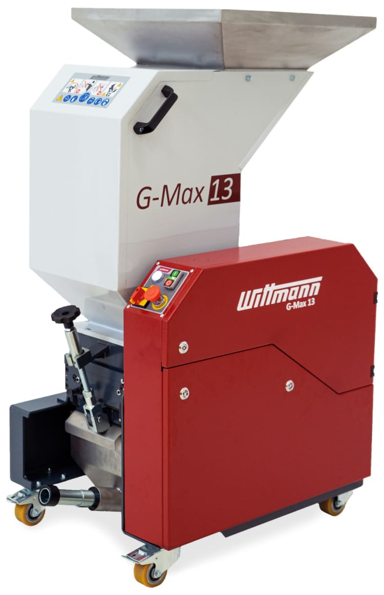 The new G-Max 13 granulator from Wittmann.
