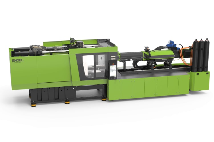 The e-speed 280 sees ENGEL expand the series into the lower clamping force ranges, with a particular focus on manufacturers of thin-walled containers, buckets and matching lids.