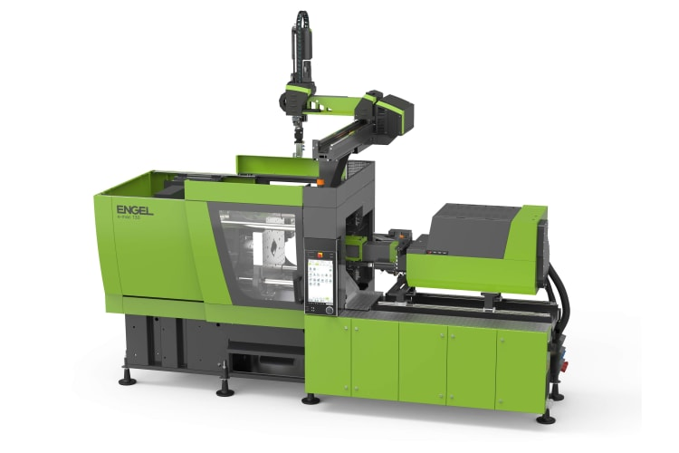 ENGEL is strengthening its position as a one-stop supplier for applications with all-electric injection moulding machines with the new e-mac 130.