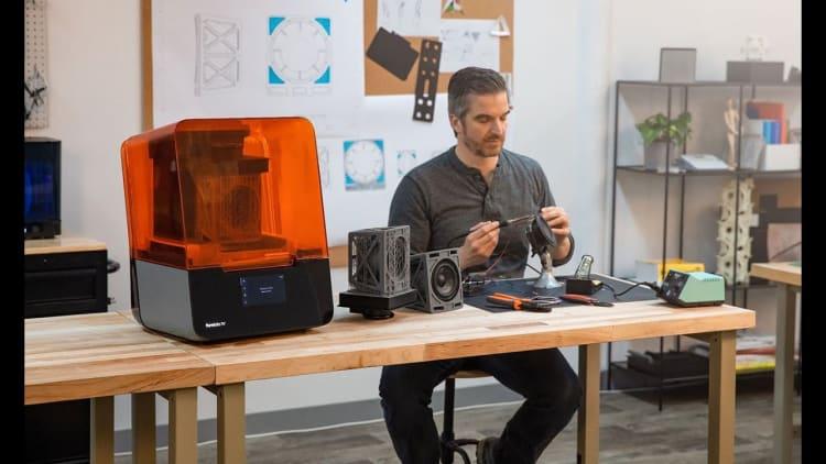 obsługa drukarki 3D w technologii SLA/LFS