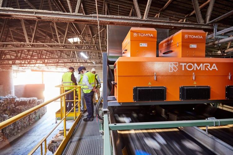 stomra-2021-advanced-mechanical-recycling-plant-visit-01