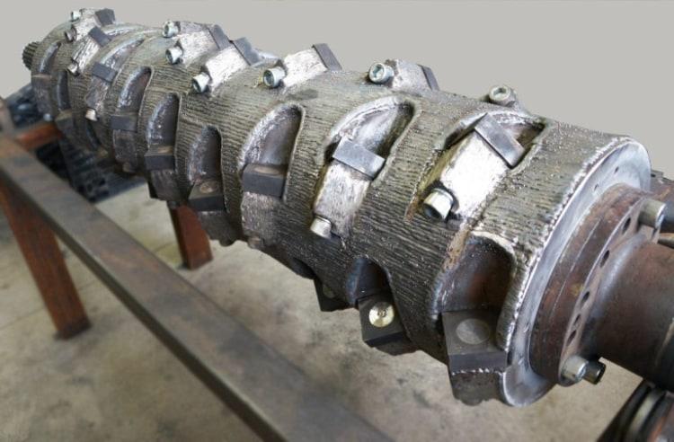 Usługi regeneracji i naprawy rotora