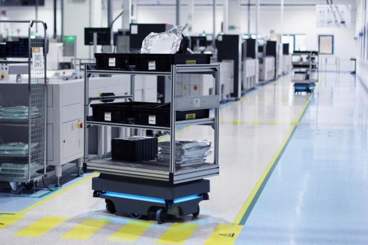 Robot MiR, firma Visteon