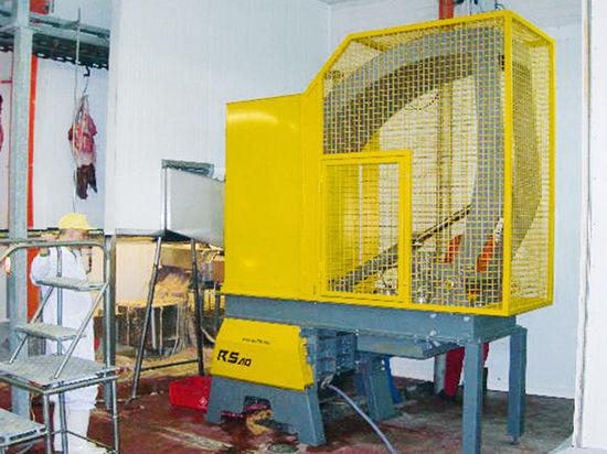 Rozdrabnianie odpadów poubojowych – RS40