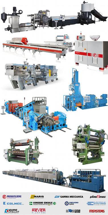 maszyny do tworzyw sztucznych i gumy